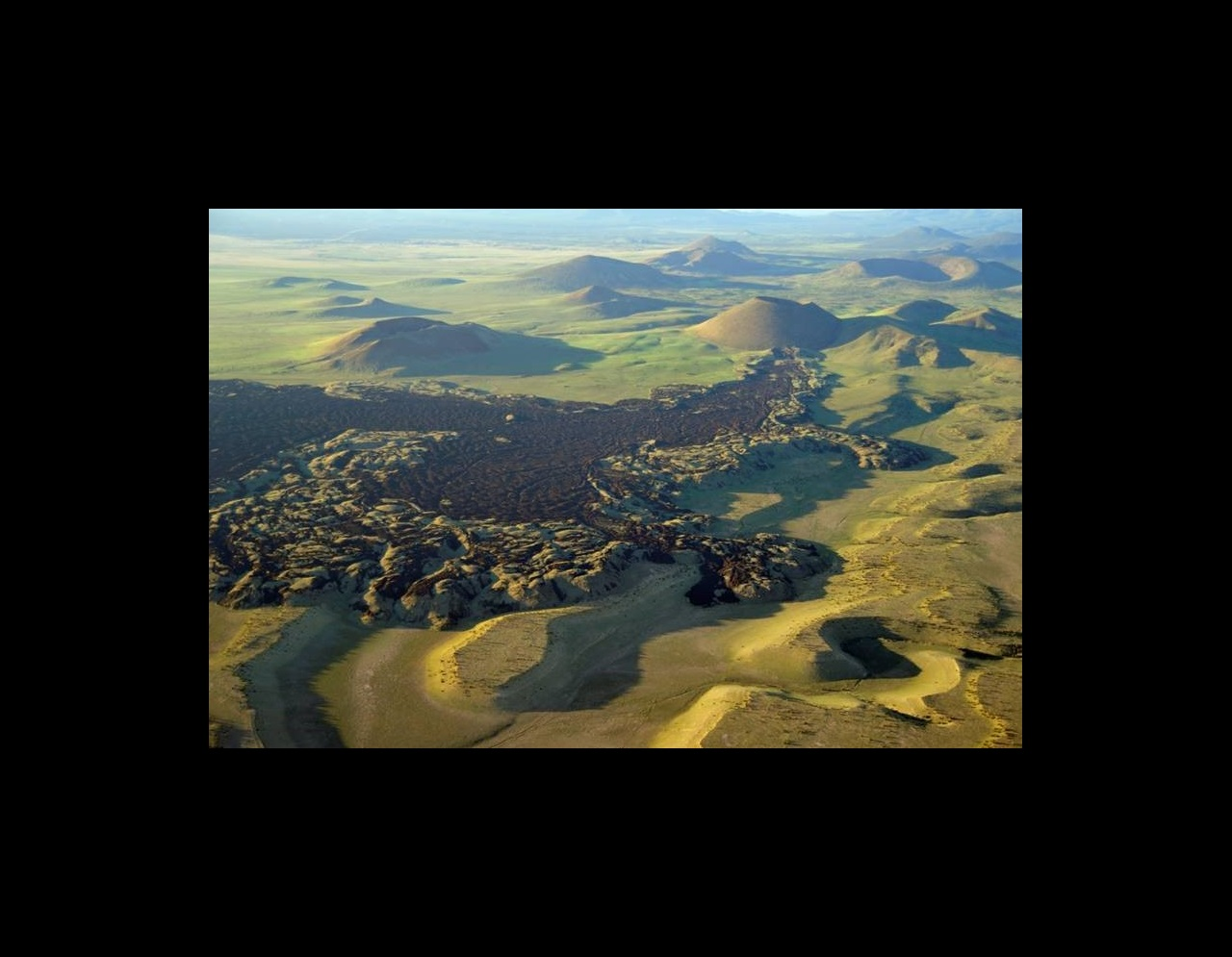 Aerial image of the San Francisco Volcanic Field