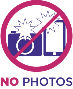 "Icon with a camera and phone with ""No Photos"" text"