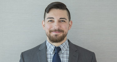 AGU staff headshot of Michael Villafranca