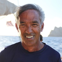 Headshot of Ocean Sciences Meeting speaker Nainoa Thompson