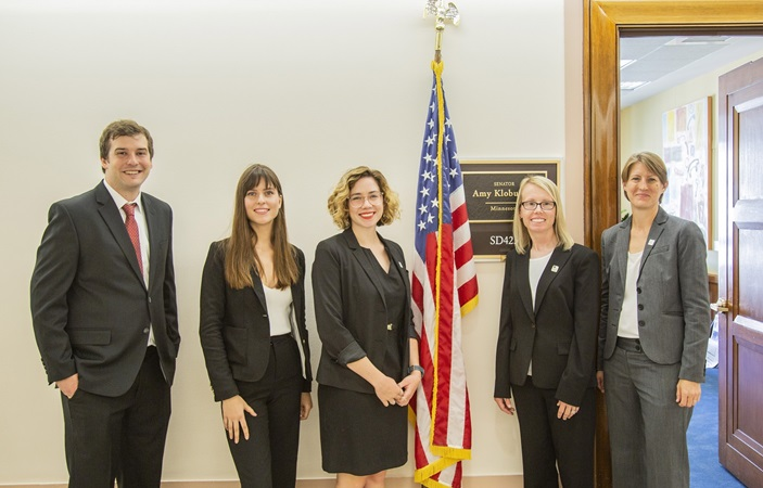 Congressional Visits Day participants in Dirksen Senate Office Building, Washington DC