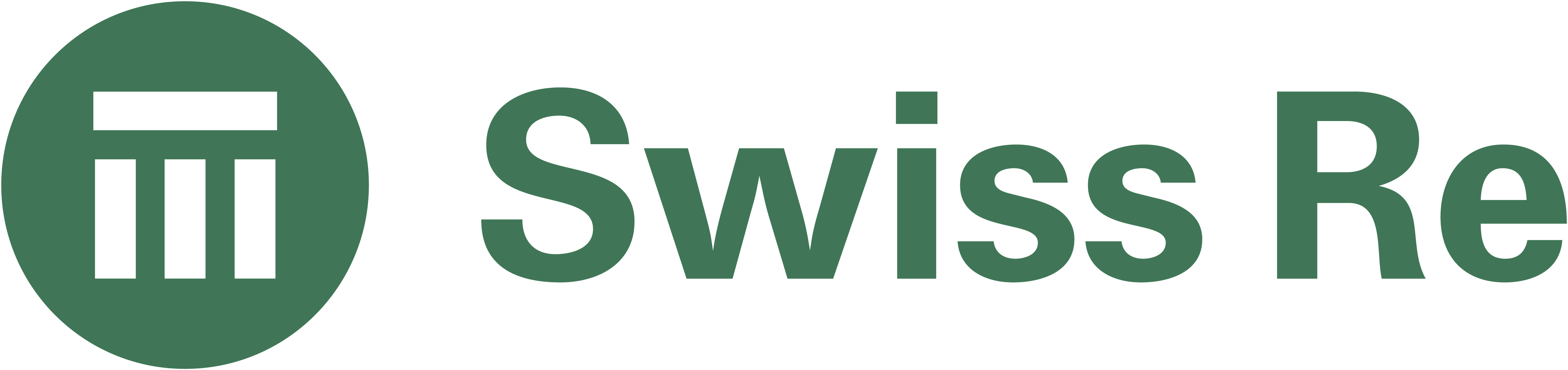 Logo for Swiss Re
