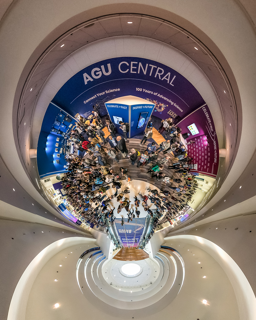 AGU Panoramic Ceiling Shot