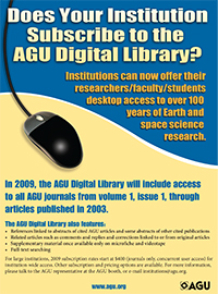 Digital Library flyer